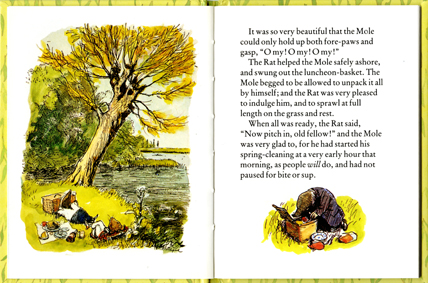 Wind in the Willows spread 2