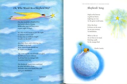 Christmas Poems spread 2