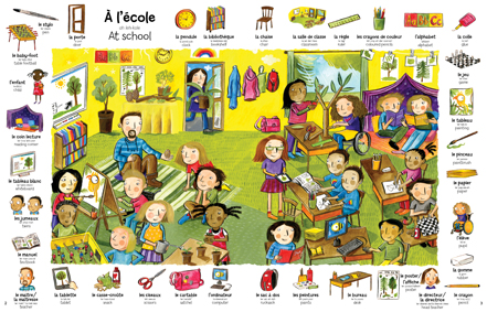 First 1000 French Words spread 1