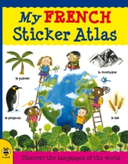My French Sticker Atlas front cover