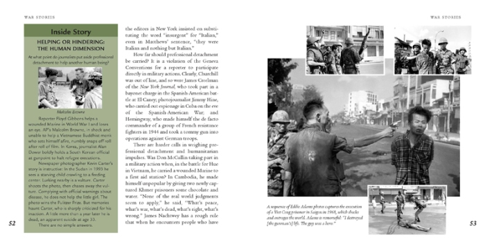 War Stories spread 1