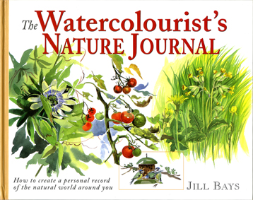 Watercolourist's Nature Journal cover